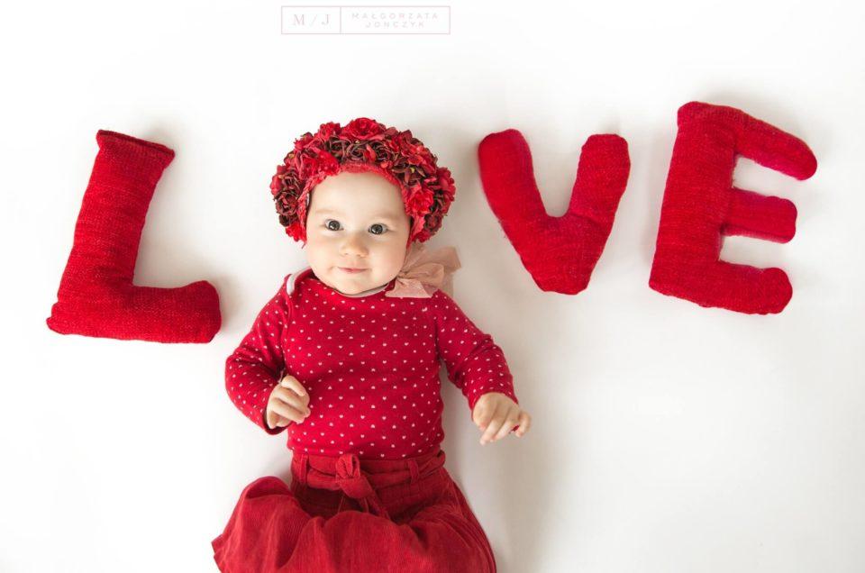 Luty miesiącem miłości sesje rodzinne, noworodkowe, dziecięce, ciążowe w promocyjnych cenach