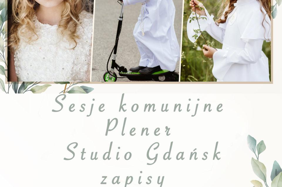 komunia sesja gdansk